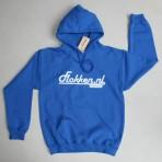 Flokken hoody blauw